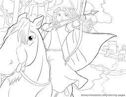 Disney S Brave Merida And Angus