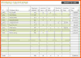 excel payroll template 6 excel payroll template survey template words