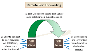 local, remote, and reverse port forwarding networkactiv what does port forwarding do for gaming at Port Forwarding Diagram