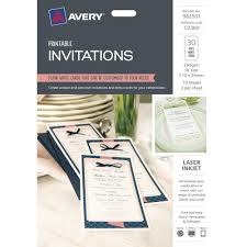 Buy Avery Invitation Cards 30 Cards At Mighty Ape Australia