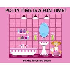 How To Make A Potty Training Chart Ultimate Potty Training System Girl Potty Long Rainbow Chart