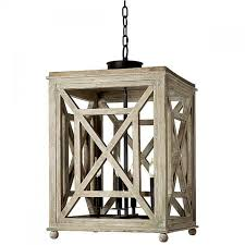 alluring white washed wood chandelier on harbor hanging light with lattice design