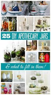 Kitchen Decorative Filled Jars Craftionary 44
