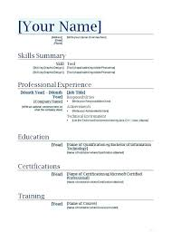 How To Create A Resume Template Magnificent Design Your Own Resume Template Funfpandroidco