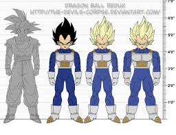 How Does Vegetas Height Change So Much From The Time Hes
