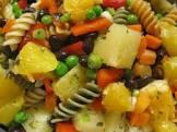 black bean sunshine pasta salad