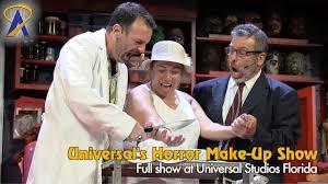universal s horror make up show at universal studios florida