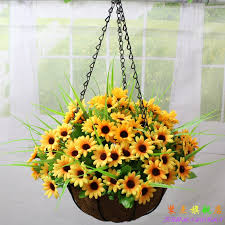 get ations wrought iron hanging baskets suit artificial flowers artificial flowers silk flower fl decoration flower home balcony