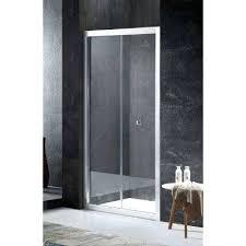 frameless shower door glass thickness rampart reversible in x in framed hinged bi fold shower door