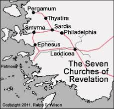 Seven Churches Of Revelation Chart 2 Letters To The Seven Churches Revelation 2 3