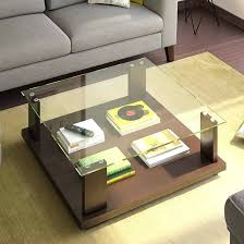 18 glass coffee table designs that bring more style into your room wood and glass coffee