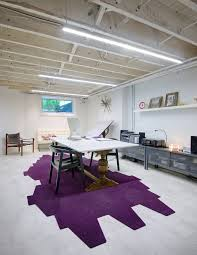 basement ceiling ideas home office scandinavian with white brick f21 office