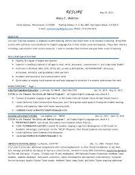 Resume For Tutoring Rome Fontanacountryinn Com