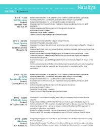 8 best ux designer resume - Gui Designer Resume