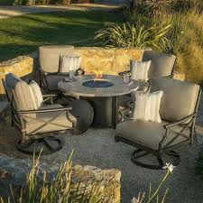 decoration fire pit table and chairs outdoor dining with 5 piece costco wood