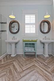 wood tile flooring in bathroom. 13 Creative Ideas For A Bathroom Makeover Wood Tile Flooring In