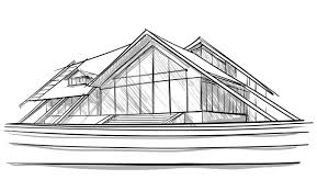 simple architectural sketches. New Ideas Modern Architectural Sketches With Sketch Of Home Simple C