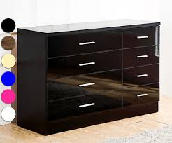 Shiny Black Bedroom Furniture High Gloss Bedroom Furniture Ebay