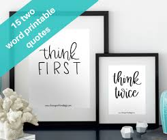 2 Word Quotes Custom 48 TwoWord Inspirational Quotes