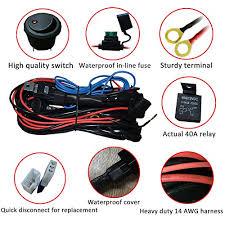 heavy duty wiring harness ampper 14 awg waterproof offroad led heavy duty wiring harness ampper 14 awg waterproof