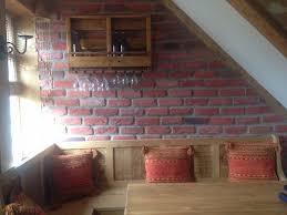 reclaimed rustic brick effect tiles