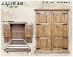 Hideaway Beds For Sale Armoire W Full Hideaway Bed Hideaway Bed Armoires And Mattress