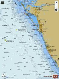 Sarasota Bay Nautical Chart Lemon Bay To Passage Key Inlet Marine Chart Us11424_p176