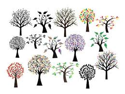 This free clipart and svg vector graphic is perfect as a scrapbook embellishment, woodland themed party and baby shower invitations, stationery, card making, and other papercraft projects! Tree Svg Tree Sticker Tree Clipart Tree Vinyl Decal Svg Files For Cricut Instant Download Royalty Free Commercial Use Business Use Tree Svg Fall Arts And Crafts Tree Stickers