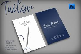 Tailors Visiting Card Design Tailor Shop Creative Business Card Examples Of Business