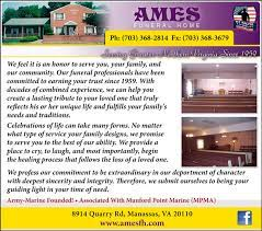 veteran s view ames funeral home