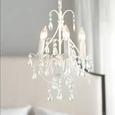 Kronleuchter Kristall Vintage Aus Eisen 4 Flammig In Weiß