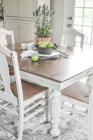 painting dining room chairs. Antique Dining Table Updated With Chalk Paint Painting Room Chairs