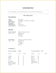 First Time Resume Template First Time Job Resume Template Teenager Teenage Templates Part Word