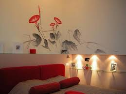 bedroom painting design ideas. Awesome Interior Wall Painting Designs Decorative Ideas For Walls Inspiring Goodly Bedroom Design