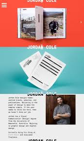 1000 images about one page websites the team colorful multi scrolling one pager for graphic designer cole would have loved