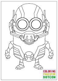 Small Picture Minion Ant Man Mode Coloring Pages by blackartist22 on DeviantArt