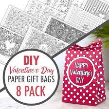Diy Valentine S Day Paper Gift
