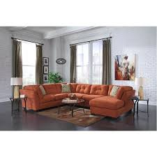 F Rust Color Couch Colored Pillows Decor