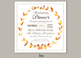 Thanksgiving Invites Watercolor Autumn Leaves Wreath Thanksgiving Invitation Thanksgiving Invitations Diy Thanksgiving Invite Watercolor Invites Seasonal