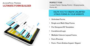 Ultimate Form Builder By Accesskeys | Codecanyon