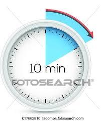 10 Minuite Timer 10 Minute Timer Clipart