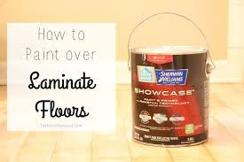 How To Paint Over Laminate Flooring, Diy, Flooring, How To, Painting