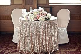 gold overlay tablecloth ideas