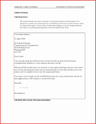 Business Letter Format And Rules New Resume Spacing Format Lovely ...