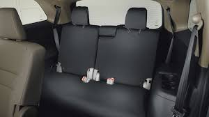 rear seat cover 3rd row