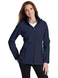 port authority women s winter zippered pocket polyester waterproof jacket com