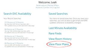 Dvc Availability Chart How To Use Dvcapp For Planning Stays At Disney Vacation Club