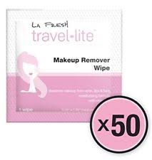 face la fresh makeup remover cleansing travel wipes natural biodegradable e