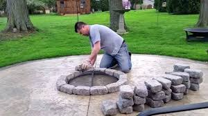 stamped concrete patio with fire pit cost. Contemporary Patio Concrete Patios With Fire Pits Home Interior Powerful  Build A Patio For Bucks   Intended Stamped Concrete Patio With Fire Pit Cost