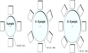 full size of 8 seater dining table size in feet round for measurements nz person dimensions